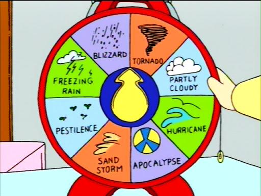 Stewie's Weather Machine