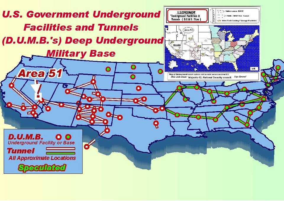 The Dulce Underground Base How Deep Does This Rabbit Hole Go - Us military base locations map