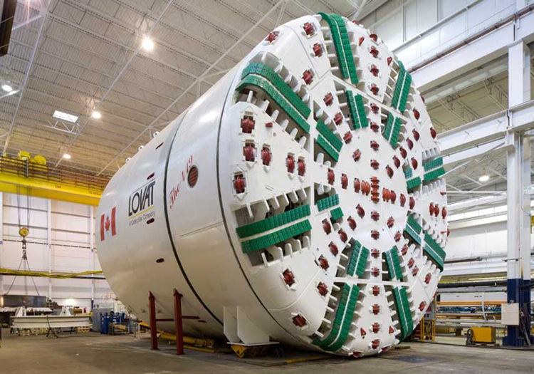 nuclear tunneling machine