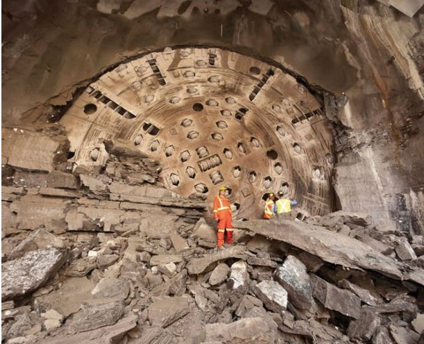 tunneling-máquina