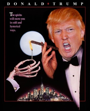 Donald Trump Starring in Scrooged