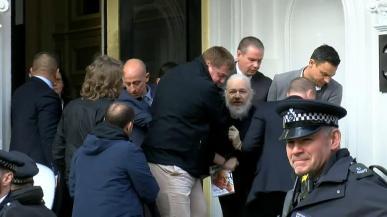 Julian Assange Captured