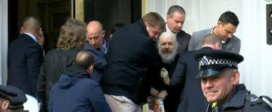Julian Assange Captured